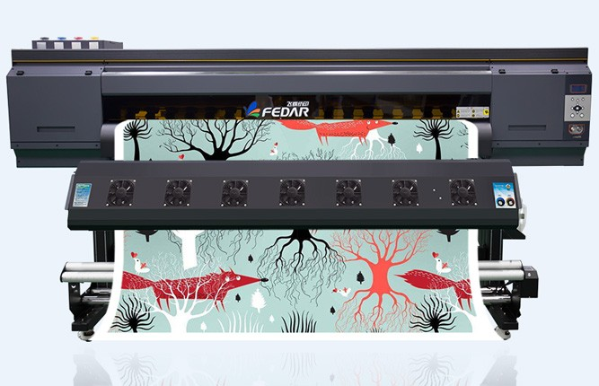 What are accessories of Fedar sublimation printer?